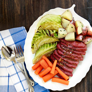 Honey Marmalade Mustard Glazed Corned Beef Recipe