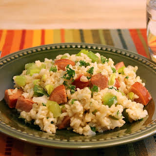 Dirty Rice with Andouille Sausage.