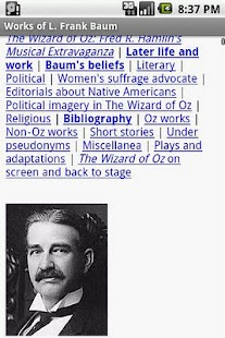 Works of L. Frank Baum- screenshot thumbnail