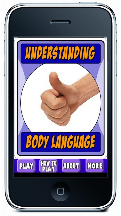 Understanding Body Language- screenshot