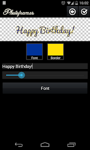 Birthday Photo Frames screenshot 3