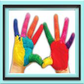 Best kids finger paint doodle
