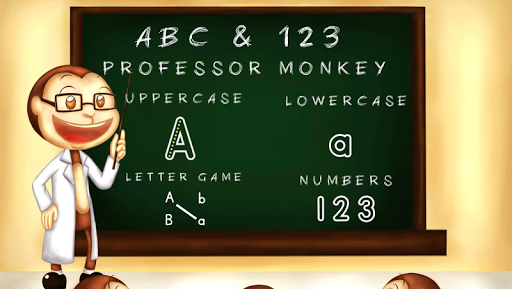 ABC 123 Monkey Professor