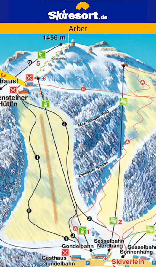 Skiresort.de - Ski App – Screenshot