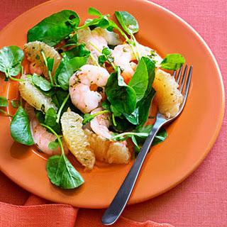 Southeast Asian Grapefruit and Shrimp Salad.