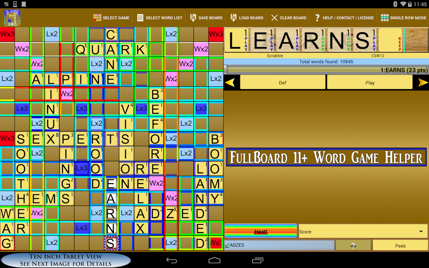 Word Solver 4 Friends +10 Paid - screenshot