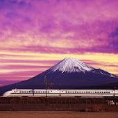 Train Puzzle:Fujiyama