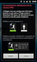 Screenshot of SOS Sports Key Unlock