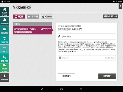 Mes Comptes BNP Paribas - screenshot thumbnail