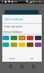 m>notes notepad free- screenshot thumbnail