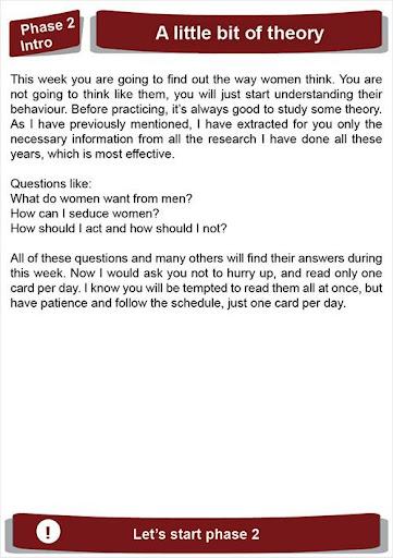 Seduce a woman in 21 days