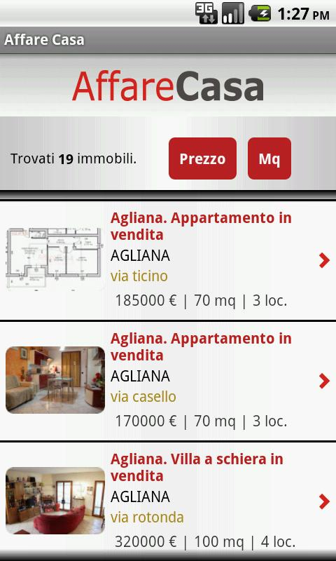 Affare Casa - screenshot