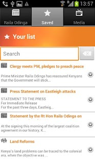 Raila Odinga for President - screenshot thumbnail