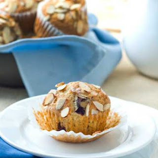 Gluten Free Almond Cherry Muffins