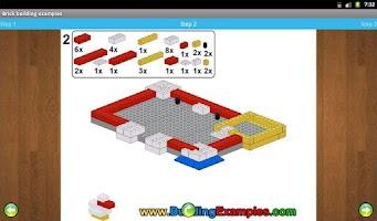 Screenshot of Brick building examples