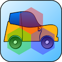 Kids Car Hex-Shaped Puzzles icon
