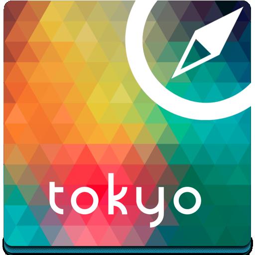 旅遊App|도쿄 오프라인지도, 가이드, 호텔 LOGO-3C達人阿輝的APP