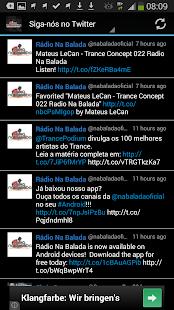 Radio Na Balada Brazil - screenshot thumbnail