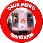 Delhi Metro Navigator -New Fare,Route,Map 2018 icon