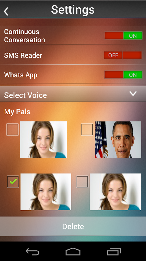 3D Pal ( 3D Siri ) - screenshot
