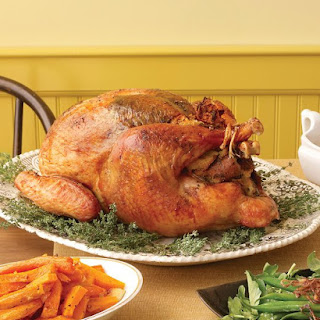 Herb-Rubbed Turkey.
