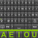 Fast SemiAlphabetical keyboard icon