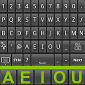 Fast Semialphabetic keyboard