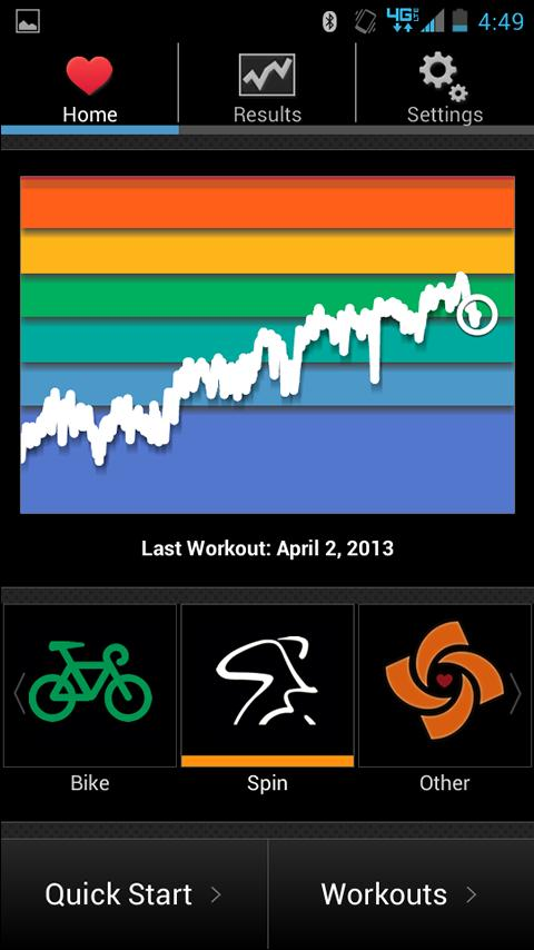 Spinning ® Indoor Cycling - screenshot
