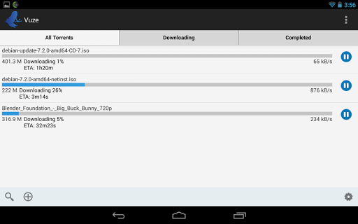 Vuze Torrent Downloader 2.1 screenshots 5
