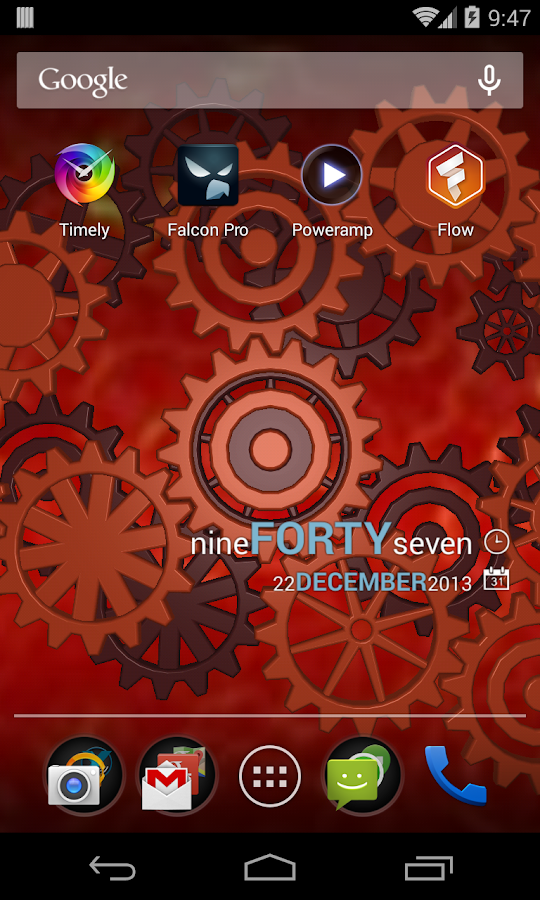 Gears 3D Live Wallpaper - screenshot