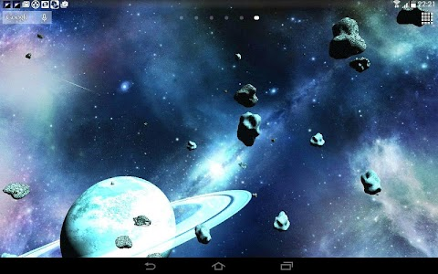 Asteroids 3D live wallpaper screenshot 8