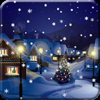 Snow Night City live wallpaper 1.1.7
