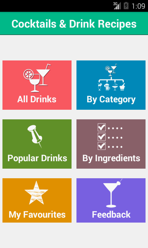 Drinks and cocktail recipes android apps on google play for App cocktail