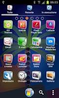 Screenshot of DREAM theme GO Launcher EX
