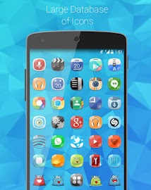Blawb (APEX/NOVA/GO/ADW THEME) Screenshot 9