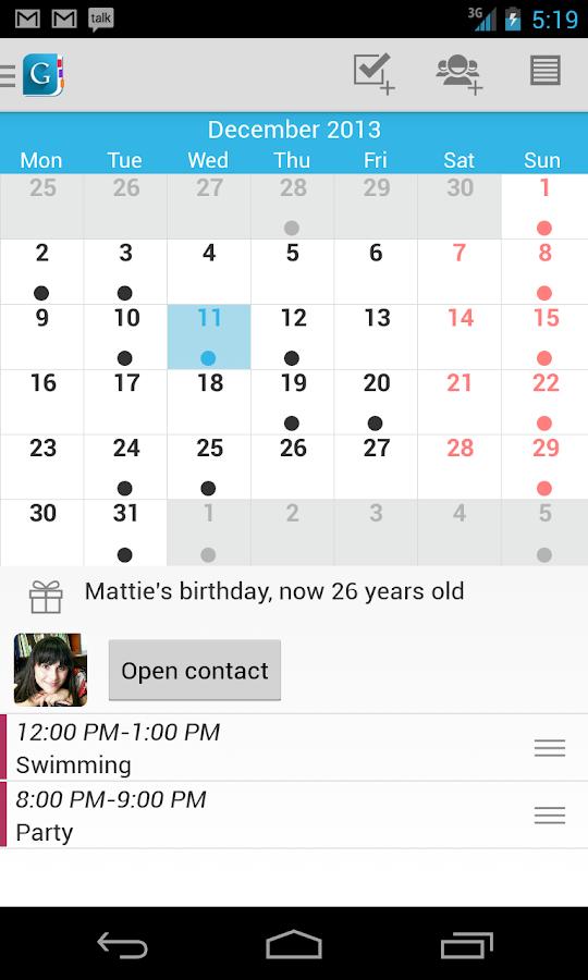 Day by Day Organizer - screenshot