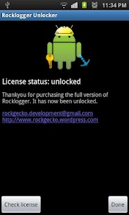 Rocklogger Unlocker- screenshot thumbnail
