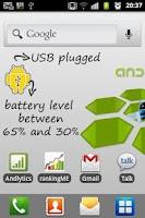 Screenshot of Battery indicator - Widget!