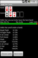 Screenshot of Texas Hold Em Odds