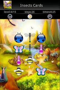 Insects Memory Cards Game - screenshot thumbnail