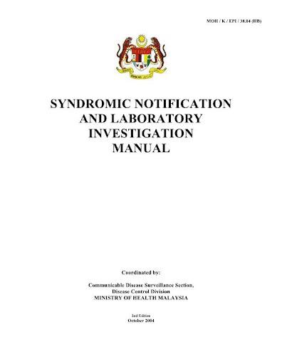 KKM BKP Syndromic Notification