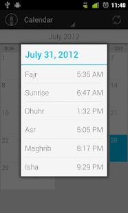 Muslim Prayer Times Free - screenshot thumbnail