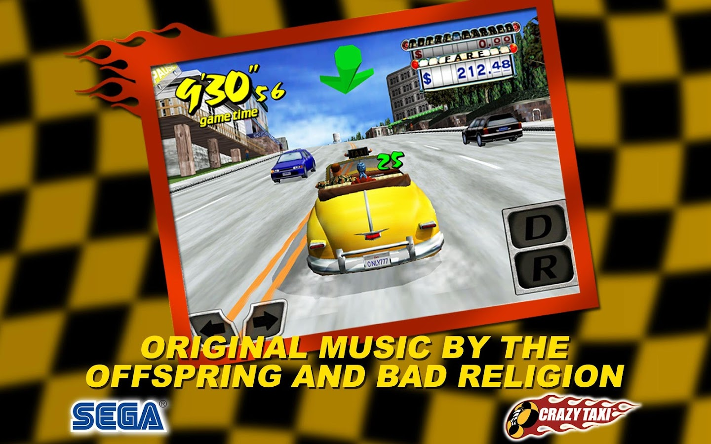 Crazy Taxi Classic™- screenshot