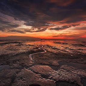 Colour of sunset II by Jali Razali - Landscapes Sunsets & Sunrises (  )