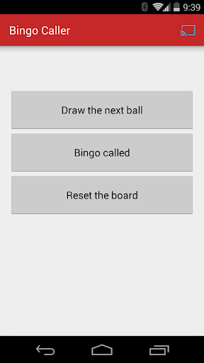 Bingo Caller for Chromecast