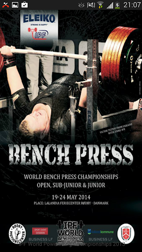 IPF World Bench Press 2014
