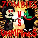 Zombies vs Vampires FREE logo