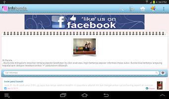 Screenshot of Infobunda-IBU HAMIL,BAYI