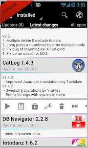 Changelog Droid v3.7.4