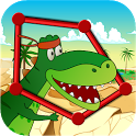 Dino Dots Connect for Kids icon